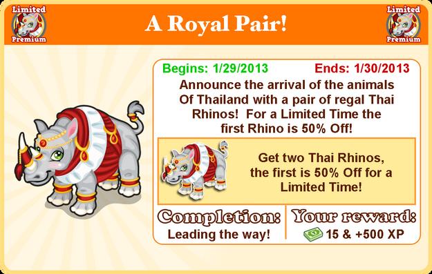Thai rhino goal modal