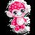 Goal cubby monkey valentine's icon