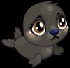 Cubby seal black single