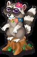 Fariy glen raccoon single