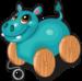 Wheels hippo single