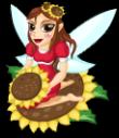 Sunflower fairy static