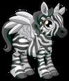 Cubby Pegasus Black and White single
