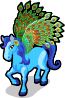 Peacock pegasus single