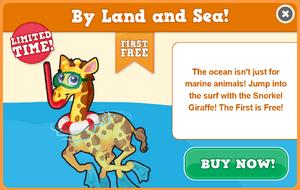Snorkel giraffe modal