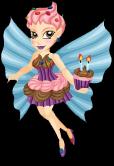 Birthday fairy static