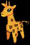 Pinata giraffe static