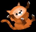 Himalayan red panda an