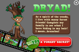 Dryad animators modal