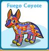 Fuego coyote card
