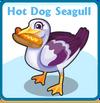 Hot dog seagull card