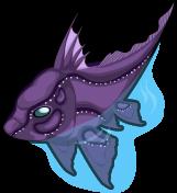 Chimaera fish single