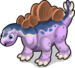 Stegosaurus single