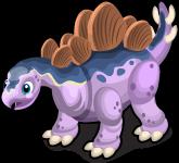 Stegosaurus single