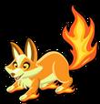 Flame fox single