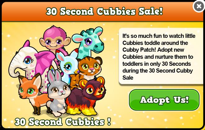 Japan 30 second cubbys modal