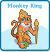 Monkey king card