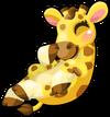 Giraffe baby mile2 single