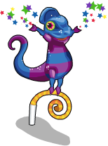 Party chameleon an