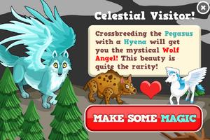 Wolf angel modal
