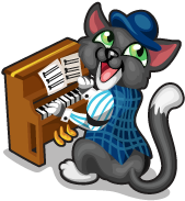 Ragtime cat single