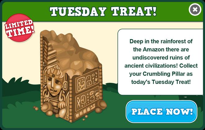 Amazon tuesday treat modal