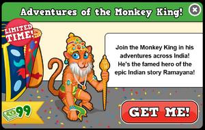 Monkey king modal