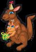 Birthday kangaroo single