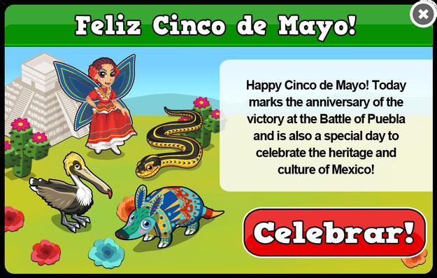 Mexico cinco de mayo modal