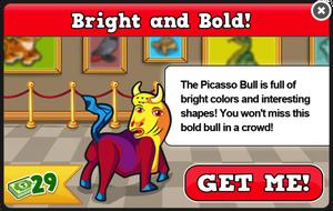 Picasso bull modal