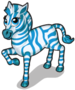 Blue zebra single