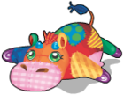 Patchwork cow an