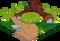 Skunk cubby habitat