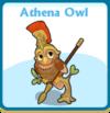 Athena owl card