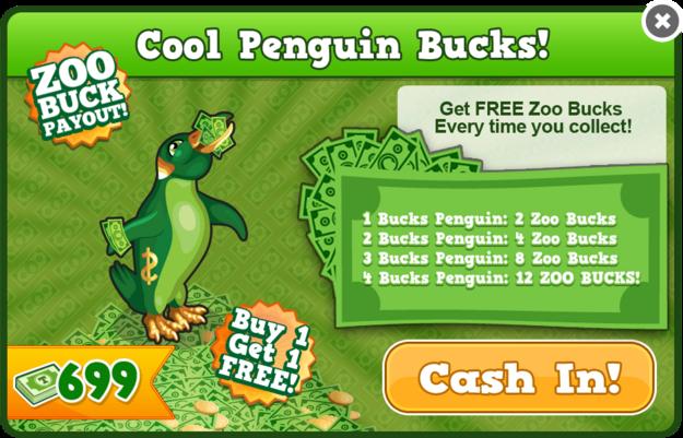 Bucks penguin modal