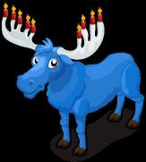 Hannukah moose single