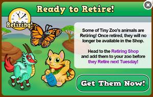 Retiring november 13 modal