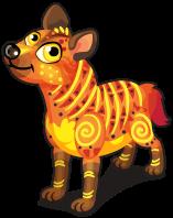 Serengeti hyena single