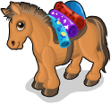 Steppe pony static