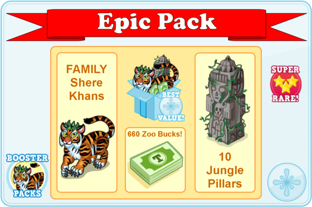 Booster pack shere khan modal