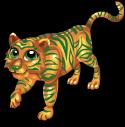 Fortune tiger static