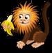Gold headed tamarin single