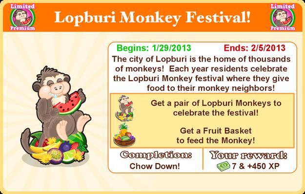 Lopburi monkey goal model