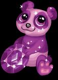 Amethyst panda static