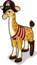 Giraffe as Pirate single