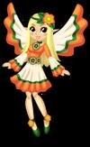 Flower child fairy single