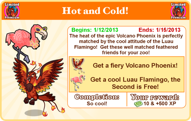 Volcano phoenix goal modal
