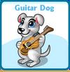 Guitar dog card
