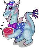Party dragon static