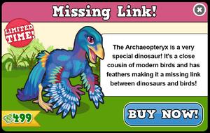 Archaeopteryx modal